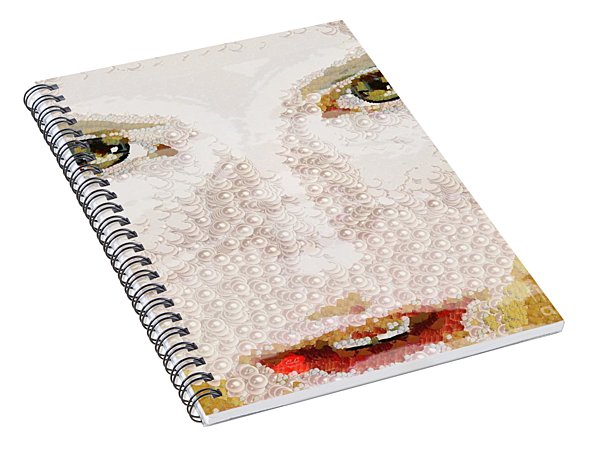 Monkey Glows Spiral Notebook