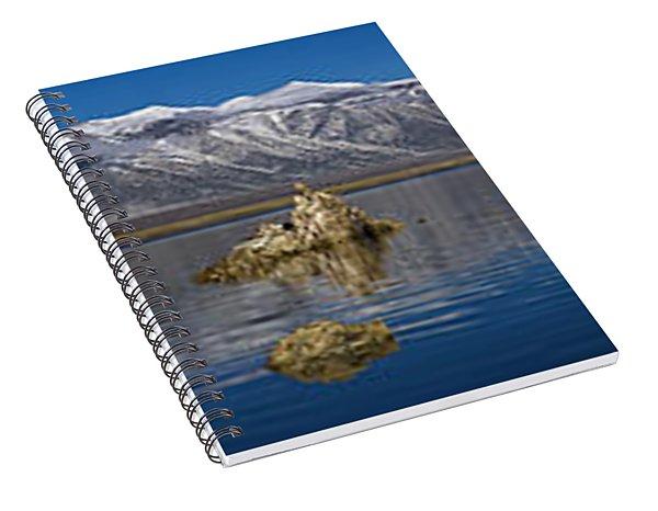 Mono Lake Pano Spiral Notebook