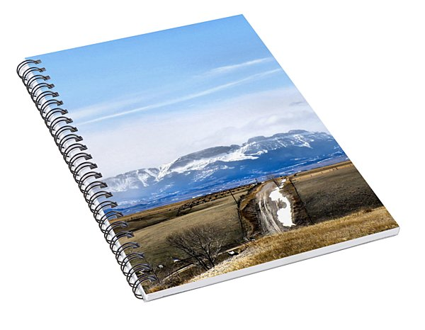 Montana Scenery One Spiral Notebook