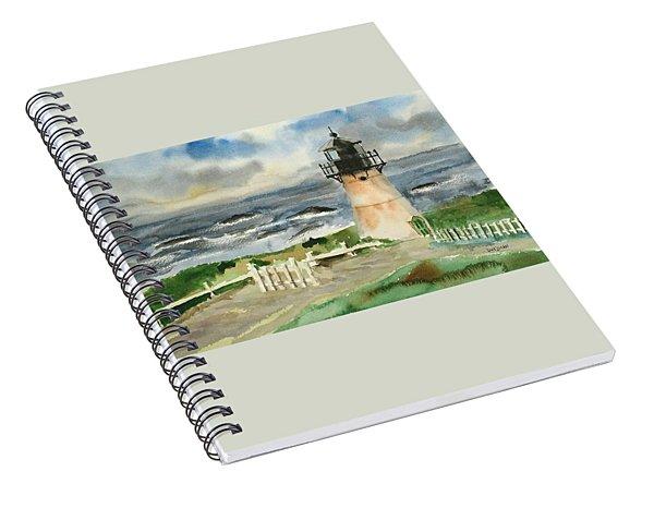 Montara Lighthouse, Plein Air Spiral Notebook