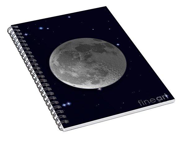 Moon Shadows Spiral Notebook