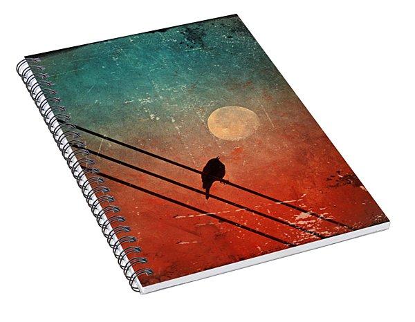 Moon Talk Spiral Notebook
