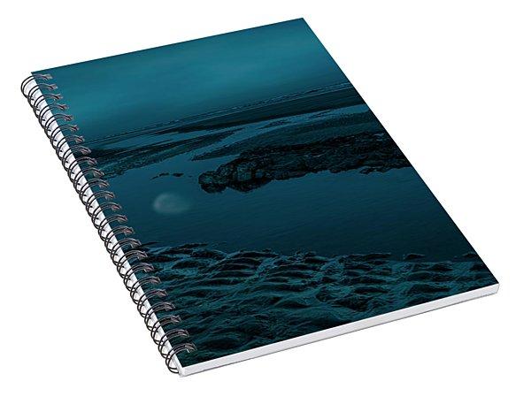 Moonscape 4 Spiral Notebook