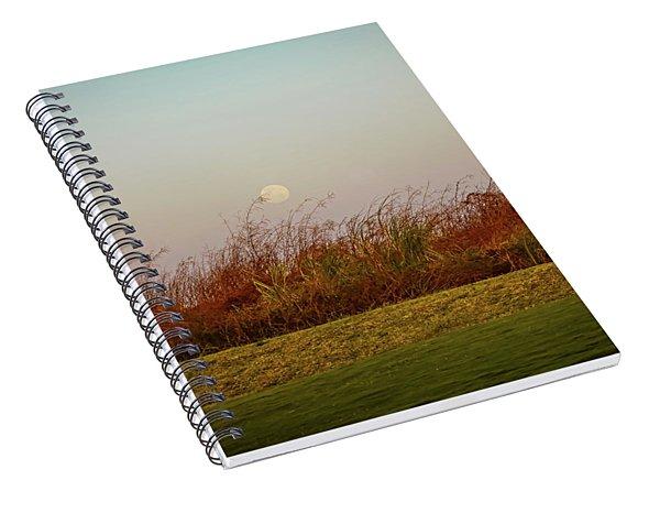 Moonscape Evening Shades Spiral Notebook