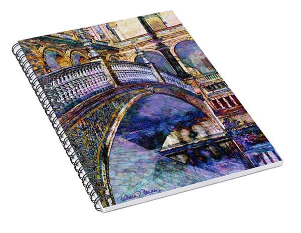 Moorish Bridge Spiral Notebook