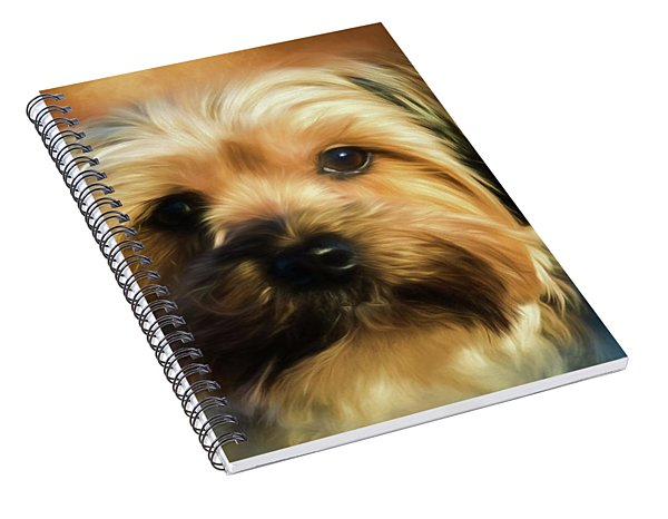 Morkie Portrait Spiral Notebook