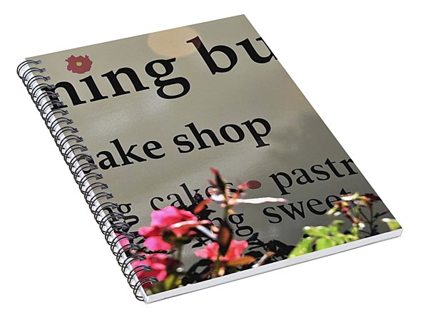 Morning Buns Bake Shop Spiral Notebook