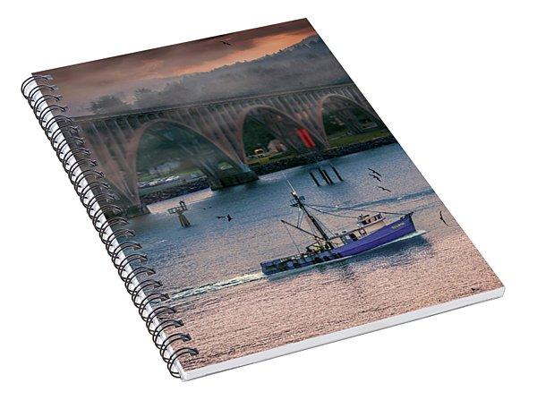 Morning Commute Spiral Notebook