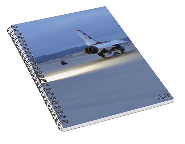Morning Go Spiral Notebook