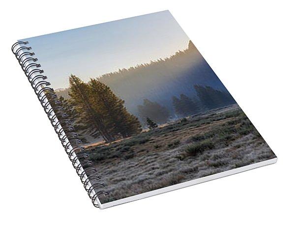 Morning Tuolomne  Spiral Notebook