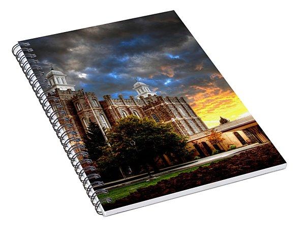 Moses Light Spiral Notebook