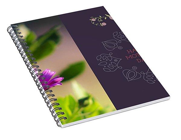 Mother's Day Flower Spiral Notebook