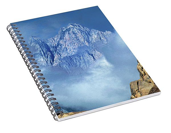 Mount Whitney Clearing Storm Eastern Sierras California Spiral Notebook