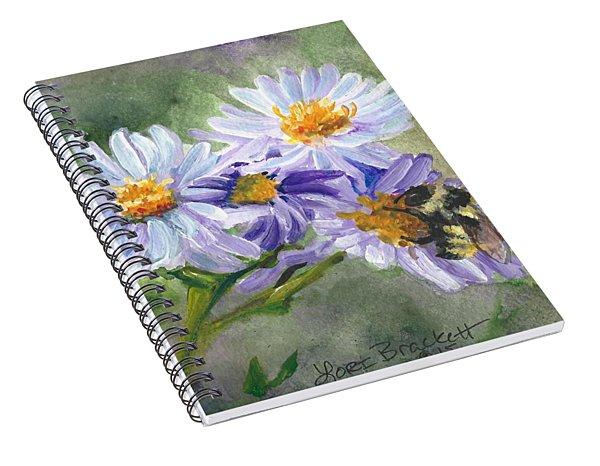 Mountain Flowers Spiral Notebook