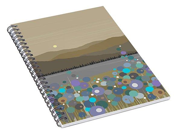 Mountain Meadow Morning Spiral Notebook