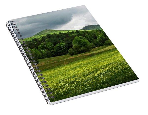 Mountain Wildflowers Spiral Notebook