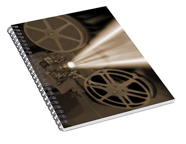 Movie Projector  Spiral Notebook