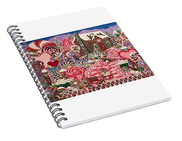 Ms. Elizabeth Peppermint World Spiral Notebook