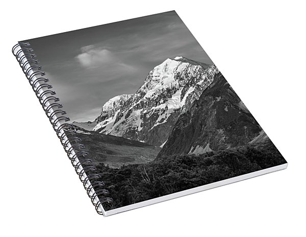 Mt Cook Wilderness Spiral Notebook