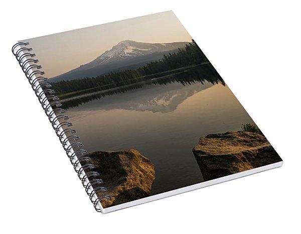 Mt Hood Sunrise  Spiral Notebook