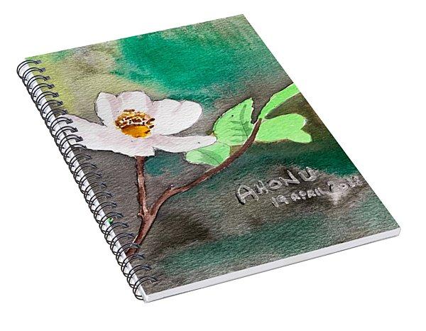 Multiflora Rosa Spiral Notebook