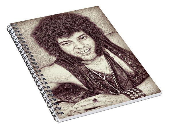 Mungo Jerry Portrait - Drawing Spiral Notebook