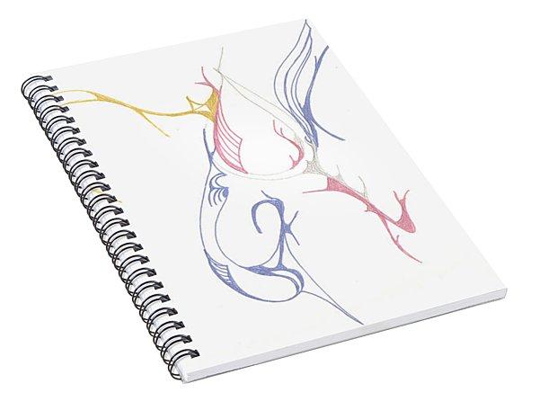 Musical Scribblings Spiral Notebook