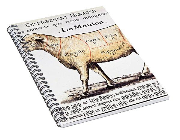 Mutton Spiral Notebook