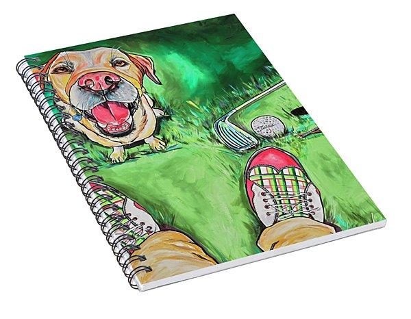 My Dog Putter Spiral Notebook