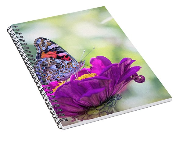 My Fair Painted Lady Spiral Notebook