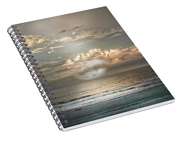 Mystical Moom Spiral Notebook