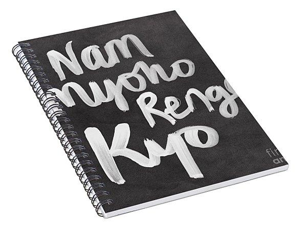 Nam Myoho Renge Kyo Spiral Notebook