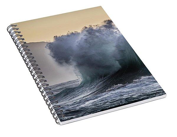 Napali Coast Kauai Wave Explosion Spiral Notebook