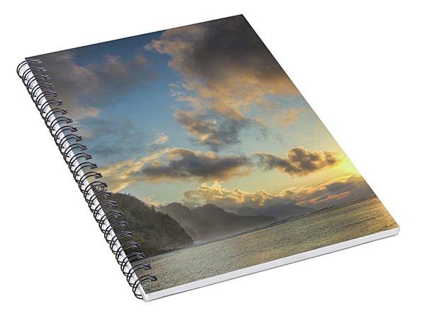 Napali Coast Sunset Kauai Spiral Notebook