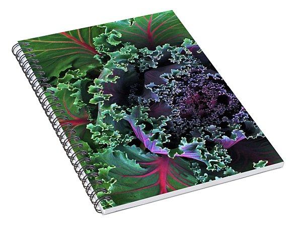 Naples Kale Spiral Notebook