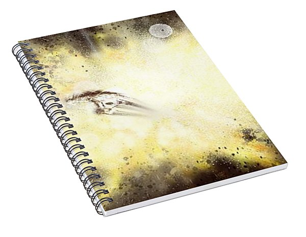 Narrow Escape Spiral Notebook