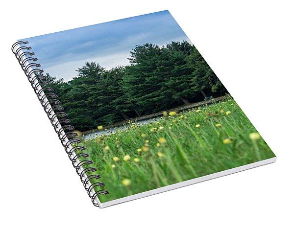 Evergreen Lake - A Groundhog View Spiral Notebook