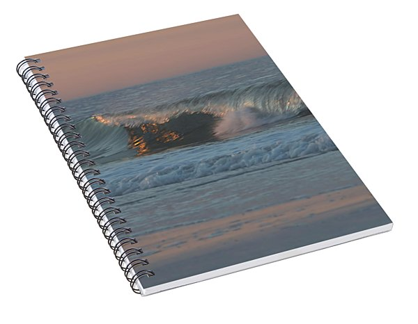 Natures Wave Spiral Notebook