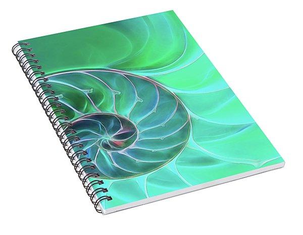 Nautilus Aqua Spiral Spiral Notebook