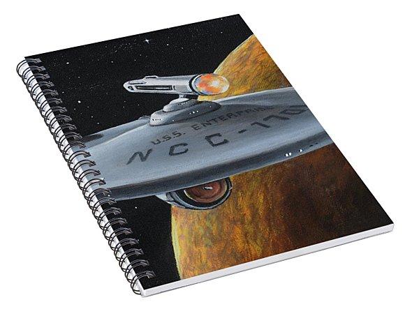 Ncc-1701 Spiral Notebook