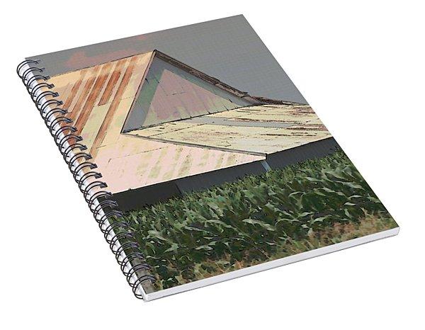 Nebraska Farm Life - The Tin Roof Spiral Notebook