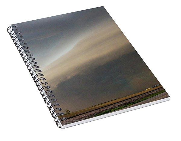 Nebraska Thunderstorm Eye Candy 026 Spiral Notebook
