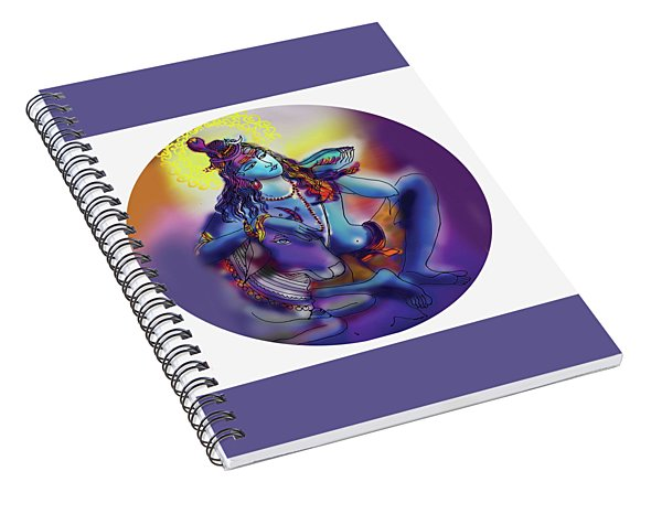 Neelakanth Shiva  Spiral Notebook