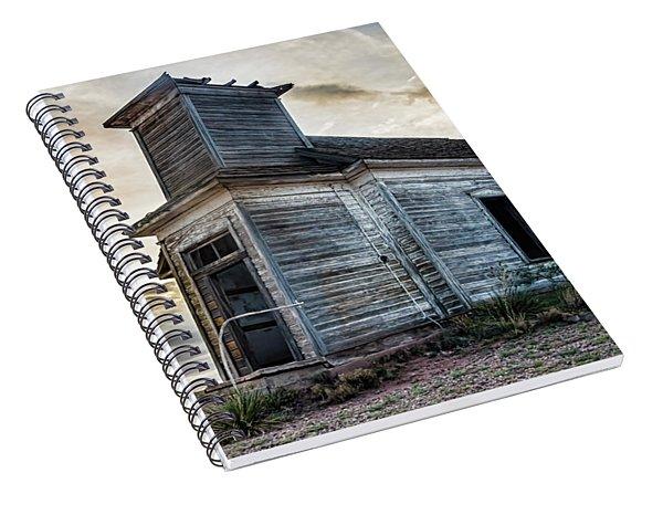 New Mexico Church #3 Spiral Notebook