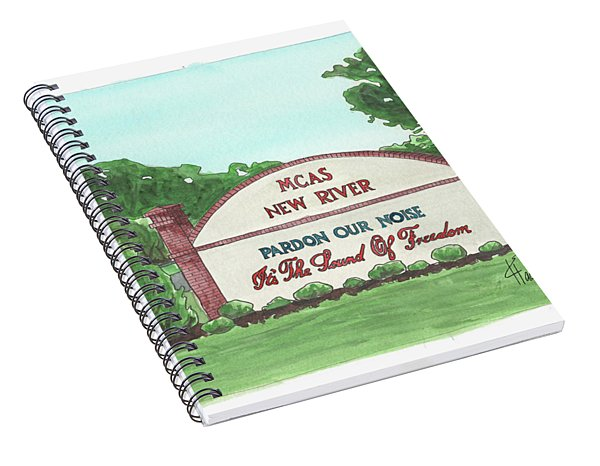 New River Welcome Spiral Notebook