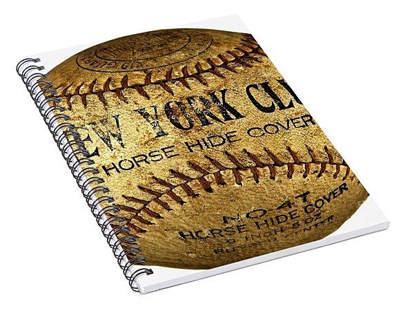 New York Club Basball Circa 1918 Spiral Notebook