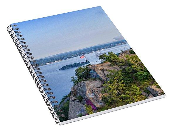 Newburgh From Breakneck Ridge Spiral Notebook