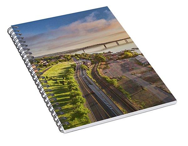 Newburgh Waterfront Looking North Spiral Notebook