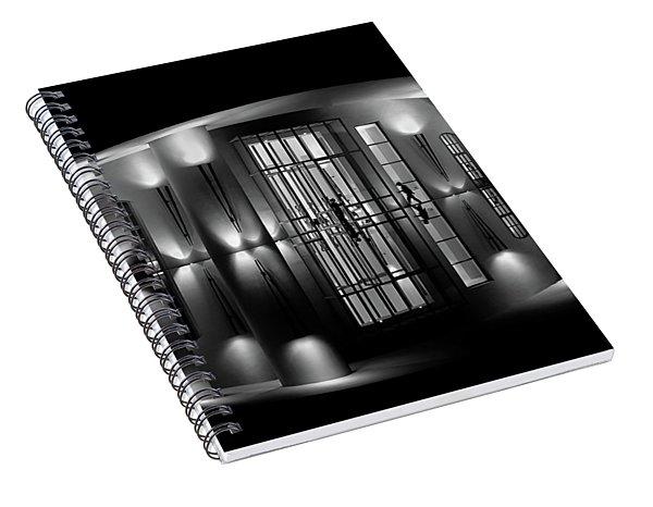 Night Reflection Spiral Notebook