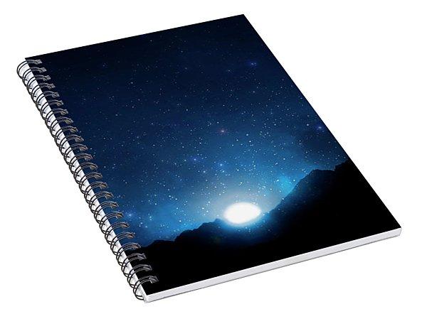 Nightsky Africa 5 Spiral Notebook